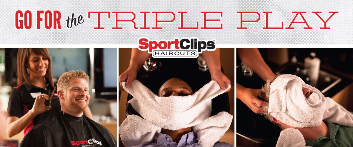 The Sport Clips Haircuts of Millington  Triple Play